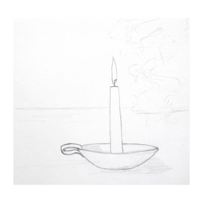 sketch_candle